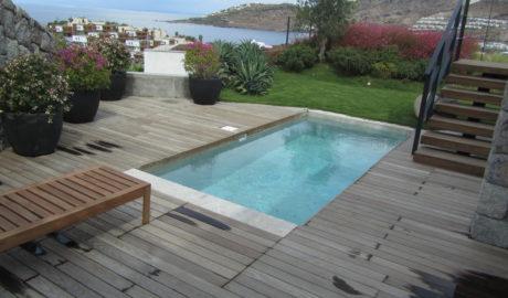 Thermory Jaseň terasová doska 20x95mm (profil D11 sg). Beach residence, Turecko
