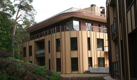 Thermory Borovica Obkladové drevo 20x140mm (profil D4). Lotyšsko