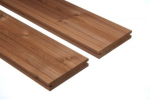 Thermory Borovica terasové dosky a konštrukčné drevá